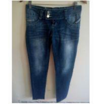 Calça jeans Sawary azul tamanho 38 - P - 38 - Sawary