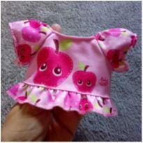 Blusinha Baby Alive - estampa de maçãs -  - Hasbro