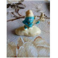 Smurfette brinquedo Mini - MC Donald`s -  - Mc Donald`s
