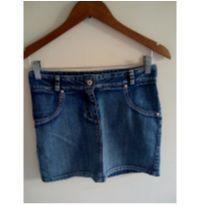 Saia jeans mocinhas abaixou o preço  - aproveita :) - 14 anos - Marca não registrada