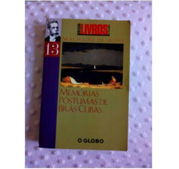 Livro Clássico de Machado de Assis - Memórias Póstumas de Brás Cubas - Sem faixa etaria - Editora Globo