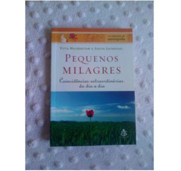 Livro clássicos de auto ajuda - Pequenos Milagres - Sem faixa etaria - Editora Sextante