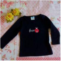 camiseta manga longa baby - 3 meses - Marlan