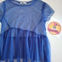 Camisa tyrol transparente - 3 anos - Tyrol