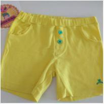 Shorts amarelinho - 9 a 12 meses - Bananas baby