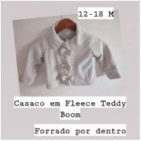 casaco nude teddy boom - 12 a 18 meses - Teddy Boom