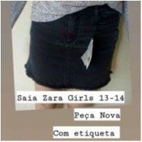 Saia Zara Girls ❤️ novo ❤️ original ❤️ lindíssima e com etiqueta ❤️ - 13 anos - Zara