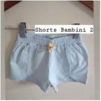 Shorts Bambini com lacinho - 2 anos - Bambini