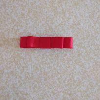 Laço vermelho chanel  - no bico de pato =] -  - Artesanal