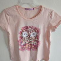 Camiseta Corujinha Turma da Malha - 8 anos - Turma da Malha