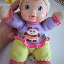 Boneca baby alive chocalho