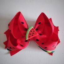 Laço melancia com aplique de melancia cód 11