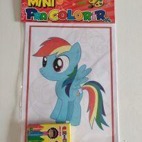 Mini kit  para colorir Poney