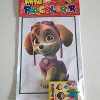 Mini kit para colorir patrulha canina -  - Sem marca