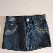 Saia jeans da marca Marisa Basics tamanho 8 cód 99 - 8 anos - marisa