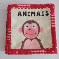 Livro de tecido animais faz barulhinho quanto amassa ele ❤ -  - North Parede Publishing