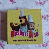 Livrinho de capa dura masha e o urso receita de família -  - Ciranda Cultural