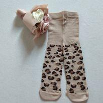 Meia calça para bebê oncinha cód 001.