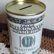 Cofre Dólar Altura 12 cm -  - Marca não registrada