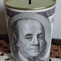 Cofre Dólar $$$ esse é o maior altura 15 cm -  - Marca não registrada