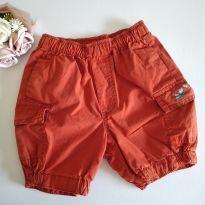 Shorts Laranjinha H&M Baby 2-4 meses 62 cm cód 12AB - 3 meses - H&M