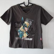 Camiseta Wolverine Marvel código 81 H - 3 anos - MARVEL