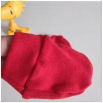 Luvinha vermelha baby mede 7 cm -  - Não informada