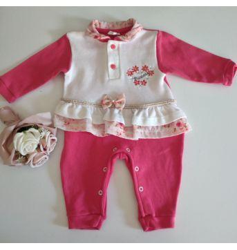 Macacão fofo meninas babys  sem pé - 3 meses - Sininho Baby