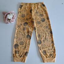 Calça de pijama dinossauros cód 3 - 4 anos - sem etiqueta e etiqueta foi cortada