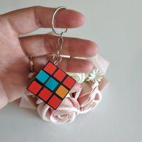 Mini cubo Mágico chaveiro 3 cm x 3 cm cód 01C -  - Sem marca