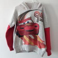 Blusa de moletom com capuz do filme Carros tamanho 4 - 4 anos - Renner