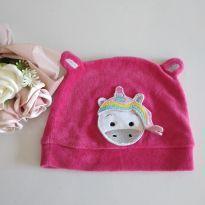 Touca pink Baby Unicórnio cód 59 -  - Marca não registrada