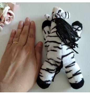 Pelúcia de zebra - Sem faixa etaria - Sem marca