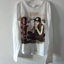 Camiseta manga longa Zara 7/8 cód 26U - 7 anos - Zara