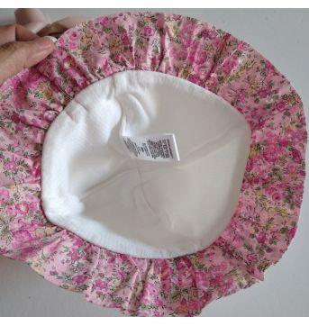 Chapéu de tecido florido cód 41U - Sem faixa etaria - Sem marca