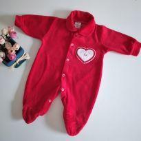 Macacão Vermelho Recém nascido - Recém Nascido - Azul e Rosa
