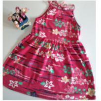 Vestido florido Puc tamanho 8 - 8 anos - PUC
