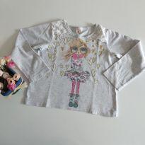 Camiseta manga longa tamanho 4 cód 21 - 4 anos - Yeaqp