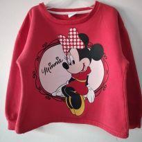 Blusa moletom Minnie tam 3 cód 31B - 3 anos - Carrefour