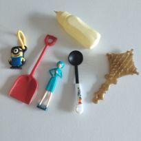 Brinquedinhos diversos cód 2P -  - Mattel e Sem marca
