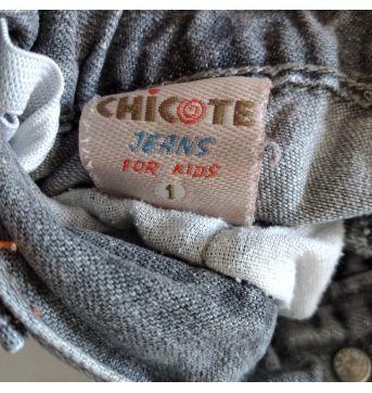 Calça jeans da Chicote Jeans  tam 1 código 11 - 1 ano - Chicote e chicote baby