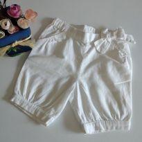 Shorts Branco Bout`chou 12 m cód 14 - 1 ano - Bout`Chou