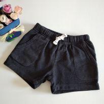 Shorts da carter`s Preto 6m código 18 - 6 meses - Carter`s