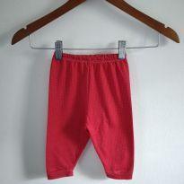 Calça vermelhinha tamanho G cód 1A - 9 a 12 meses - Presente de Anjo