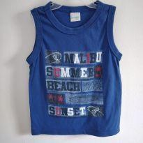 Camiseta regata Malwee Kids tamanho 4 cód 11A - 4 anos - Malwee