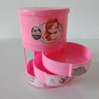 Porta-joias Jolie cor-de-rosa cód 32
