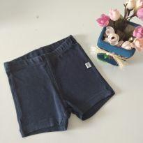 Shorts azul marinho PUC baby tamanho 1 cód 12 - 1 ano - PUC