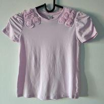 Camiseta rosa Zara Kids tamanho 5-6 - 5 anos - Zara e Zara Kids