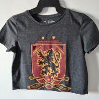 Camiseta cropped Harry Potter - 12 anos - Nacional