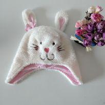 Touca de coelho baby Way tamanho único -  - Baby Way